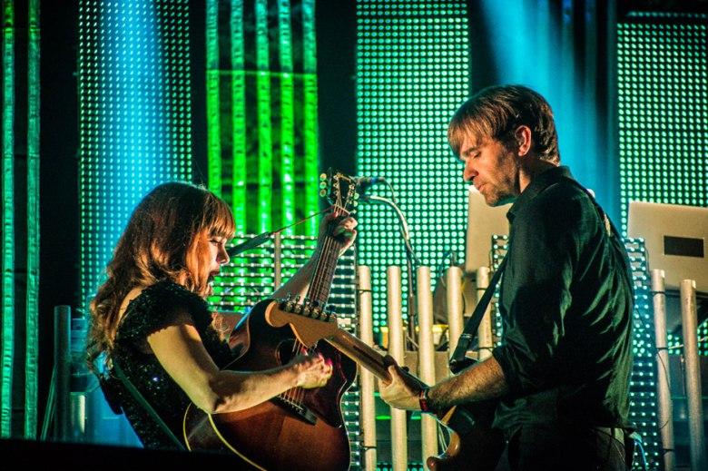 Ben Gibbard & Jenny Lewis at Lollapalooza